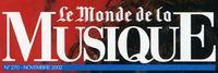 Logo Monde musique
