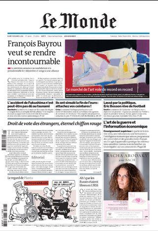 Pub Racha Arodaky Le Monde 20111208